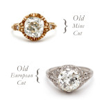 What's the difference: Old Mine Cut vs. Old European Cut