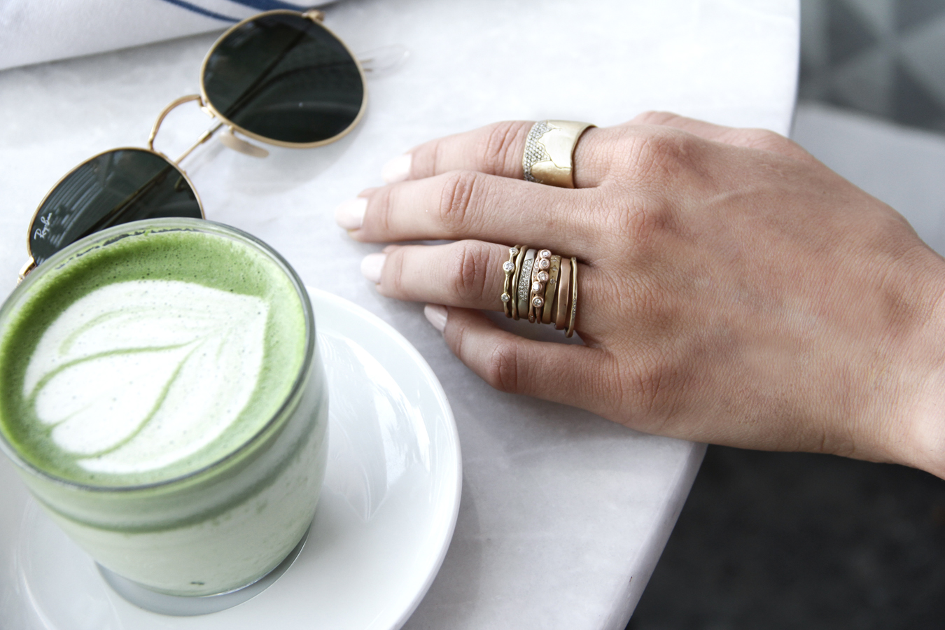 Bohemian Stacking Rings