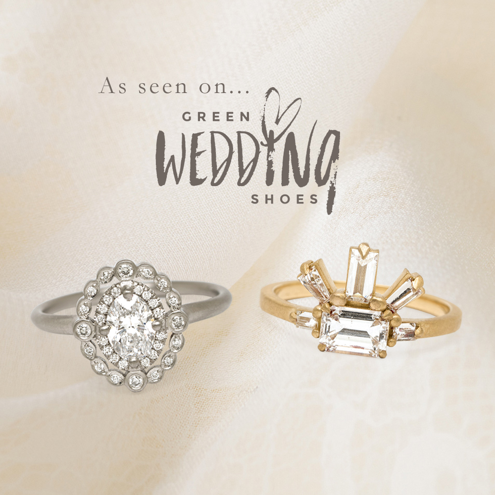 Unique Engagement Rings from Sofia Kaman featured on Green Wedding Shoes Blog