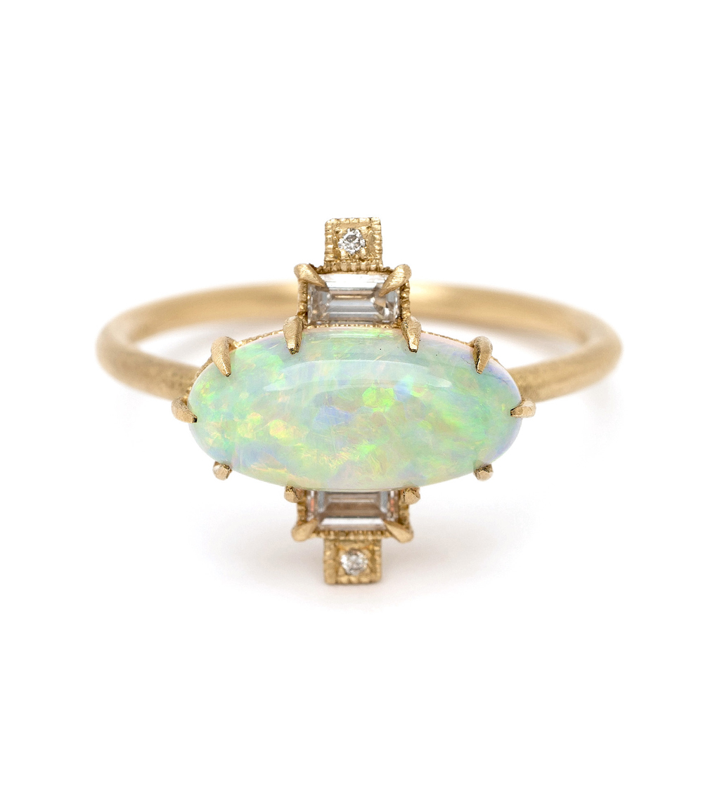 october birthstone opal ring with diamonds