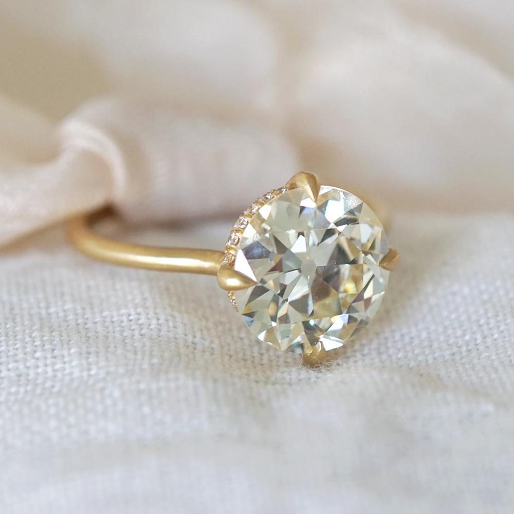billie unique engagement ring
